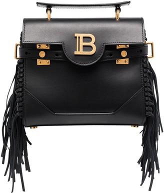 Balmain B-Buzz fringed shoulder bag