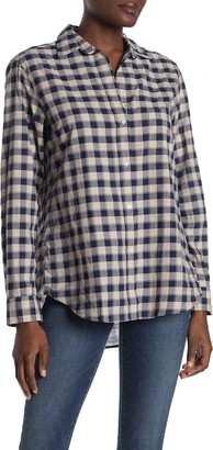 Grayson The Hero Tissue Buffalo Check Button Down Shirt