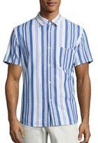 A.P.C. Chemisette Bryan Striped Shirt