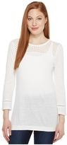 MICHAEL Michael Kors Dot Lace Applique Tunic