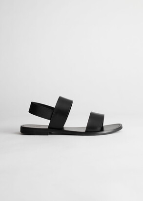 And other stories Slingback Strappy Leather Sandals