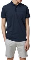 Selected Homme Summer Sapphire Polo Shirt, Dark Sapphire