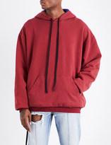 Unravel Brush Reverse cotton-jersey hoody