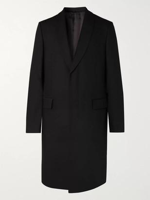The Row Leonhard Slim-Fit Shawl-Collar Virgin Wool Overcoat - Men - Black
