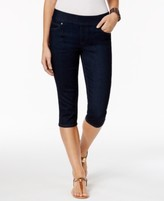 Style&Co. Style & Co Style & Co Petite Pull-On Skimmer Jeans, Created for Macy's