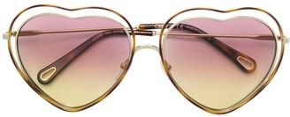 Chloé Heart Shaped Sunglasses