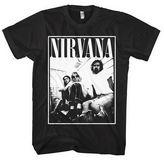 Hybrid Tees Nirvana Graphic Short-Sleeve Graphic T-Shirt