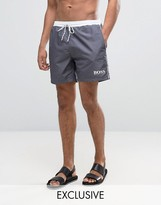 HUGO BOSS BOSS By Star Fish Swim Short Exclusive Gray