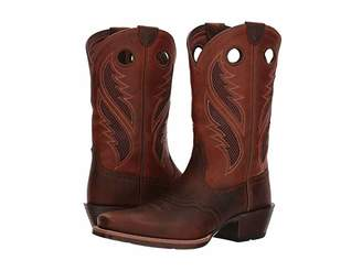 Ariat Venttek Narrow Square Toe Ultra (Brown Oiled Rowdy/Two-Tone Tan) Cowboy Boots