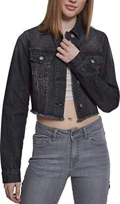 Urban Classic Women's Ladies Short Denim JacketL