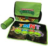 Nickelodeon TMNT Ninja Turtles Messenger Diaper Bag Set