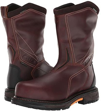 Ariat WorkHog(r) XT Defy H2O Carbon Toe (Russet Brown) Men's Work Boots
