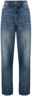 Etoile Isabel Marant Light-Wash Tapered Jeans