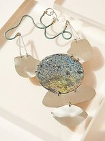 Sibilia Vertical Patina Pendant by at Free People