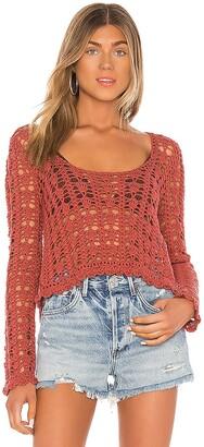 Tularosa Gigi Crochet Sweater