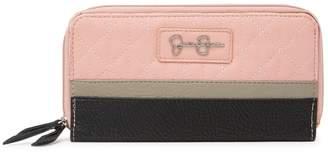 Jessica Simpson Dorna Double Zippered Wallet