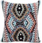 Nourison Dallas-South Western Mosaic Pillow