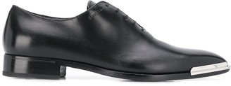 Givenchy metal tip Oxford shoes