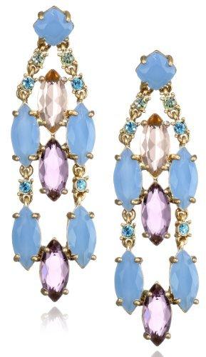 "Carolee California Girls"" Drama Drop Earrings"