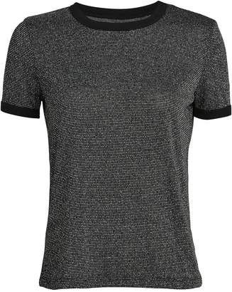 RtA Quinton Silver Fox Ringer T-Shirt