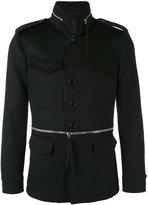 Alexander McQueen field jacket - men - Cotton/Viscose/Cashmere/Virgin Wool - 46