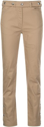Thierry Mugler Stud-Embellished Slim Trousers