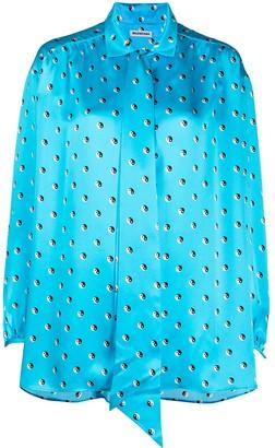 Balenciaga Yin Yang print shirt