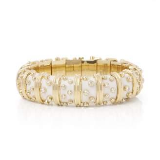 Tiffany & Co. Schlumberger White Yellow gold Bracelets