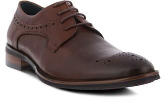 Spring Step Men's Leather Lace-Up Wingtip Oxfords - Charlie