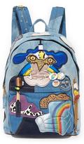 Marc Jacobs Denim Julie Biker Backpack