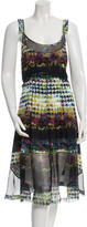 Timo Weiland Printed Sleeveless Dress