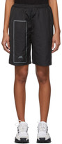 A-Cold-Wall* A Cold Wall* Black Rectangle Print Shorts