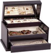 Asstd National Brand Mele & Co. Juliette Java-Finish Wooden Jewelry Box