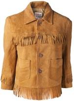 Levi's fringe jacket