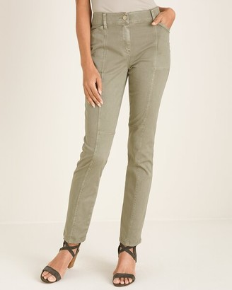 Chico's Secret Stretch Casual Utility Slim Pants