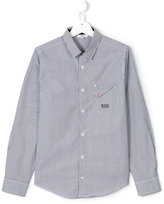 Boss Kids striped shirt