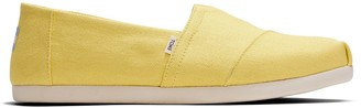 Toms Yellow Cream Canvas Men's Classics