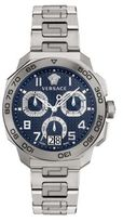 Versace Dylos Chrono Stainless Steel Bracelet Watch