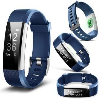 Aquarius Heart Rate Monitoring Fitness Tracker Aq125Hr Blue