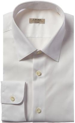 Ermenegildo Zegna Dynamic Slim Fit Dress Shirt