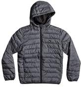 Quiksilver Boy's Scaly Water Resistant Hooded Puffer Jacket