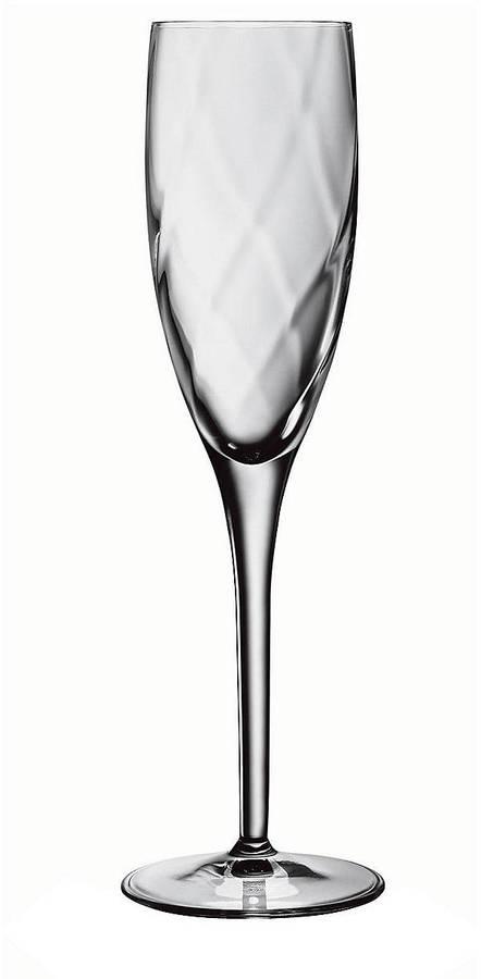 Luigi Bormioli 7 oz Champagne Flutes - Set of 4
