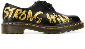 Comme des Garçons Comme des Garçons Comme Des Garcons x Dr. Martens lace shoes