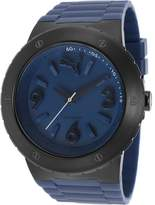 Puma Watches Mens Blast Blue Rubber and Dial Watch