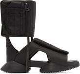 Rick Owens Black Cargo Sandals