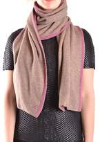 Peuterey Women's Multicolor Wool Scarf.