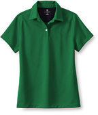 Classic Women's Regular Short Sleeve Active Pique Polo-Ink Well Pinstripe