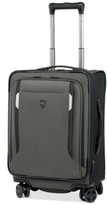 "Victorinox Werks Traveler 5.0 20"" Carry-On Expandable Dual Caster Spinner Suitcase"