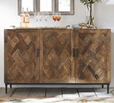 Pottery Barn Parquet Reclaimed Wood Buffet
