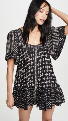 Free People Hearts Desire Printed Dress